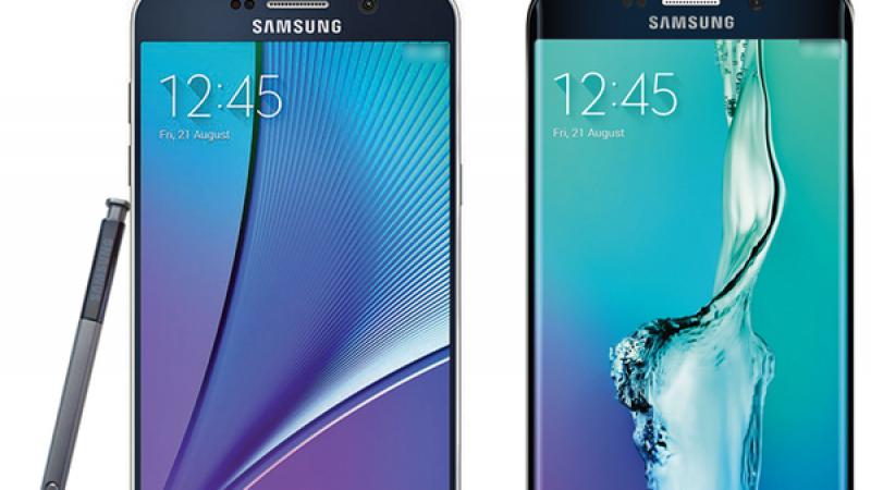 Samsung Galaxy Note 5 et S6 Edge+ : premières photos et caractéristiques dévoilées