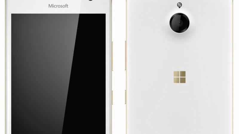 Le Microsoft Lumia 850 en fuite sur la toile
