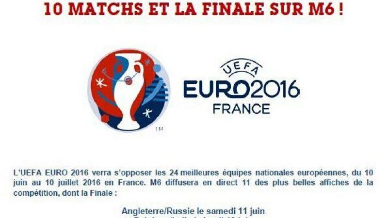 La finale de l'Euro 2016 sera diffusée sur M6, TF1 hérite de 22 rencontres