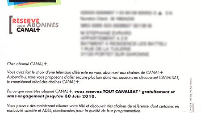 Tout Canalsat gratuit durant 2 mois pour les freenautes abonnés à Canal+