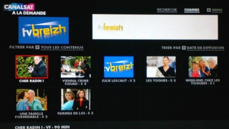 Canalsat : Arrivée du service de Replay de TV Breizh