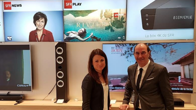 SFR présente un concept de magasins qui fait la part belle aux contenus et au foyer dans le Grand-Est