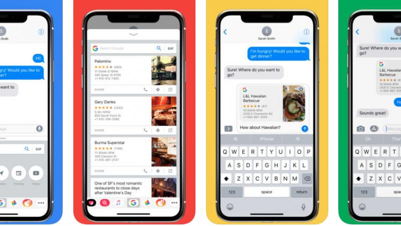 Google s'invite dans iMessage sur iOS
