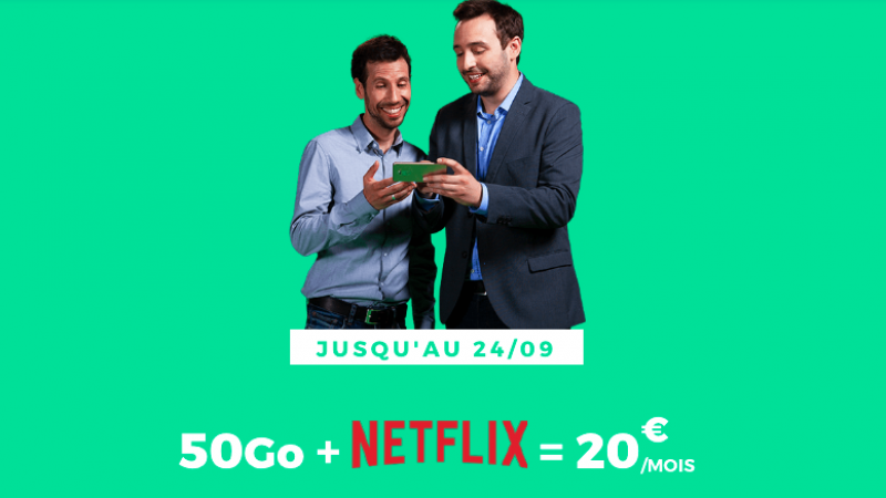 RED by SFR intègre Netflix dans une de ses offres mobiles