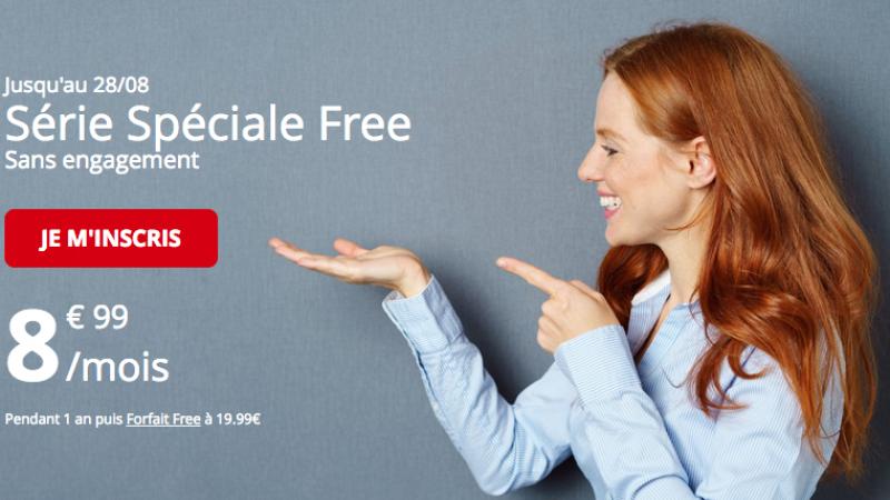 La série spéciale Free Mobile 50Go joue les prolongations