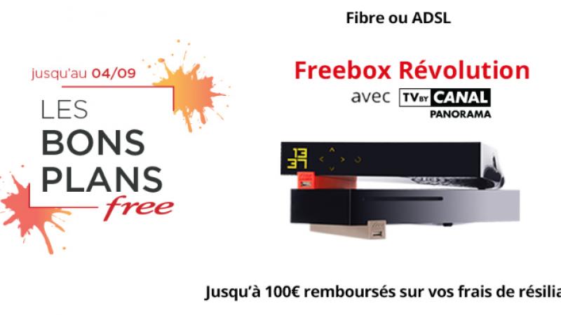 """Free renouvelle pour la rentrée ses """"Bons Plans"""" sur les offres Freebox"""