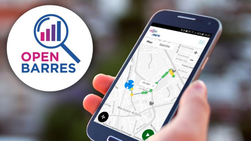 L'ANFR lance OpenBarres : l'application qui permet de faire un diagnostic de votre réseau mobile en temps réel