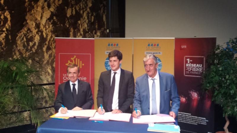 THD : le RIP du Gard 100% fibré d'ici 2022