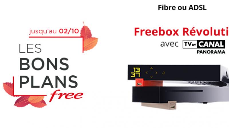 """Les """"Bons Plans"""" sur les offres Freebox Révolution, Mini 4K et Crystal sont prolongés"""