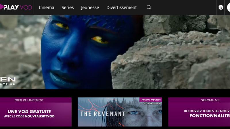 Canalplay VOD vous offre une location de VOD pour fêter le lancement de son nouveau site web