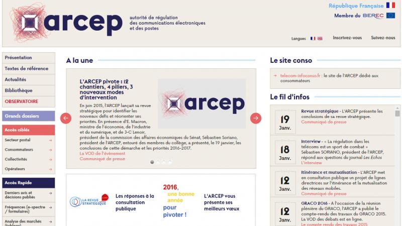 En vidéo, l'ARCEP présente les conclusions de sa revue stratégique et ses priorités 2016-2017