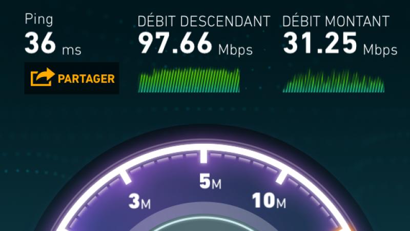 Record 4G Free Mobile à Nice