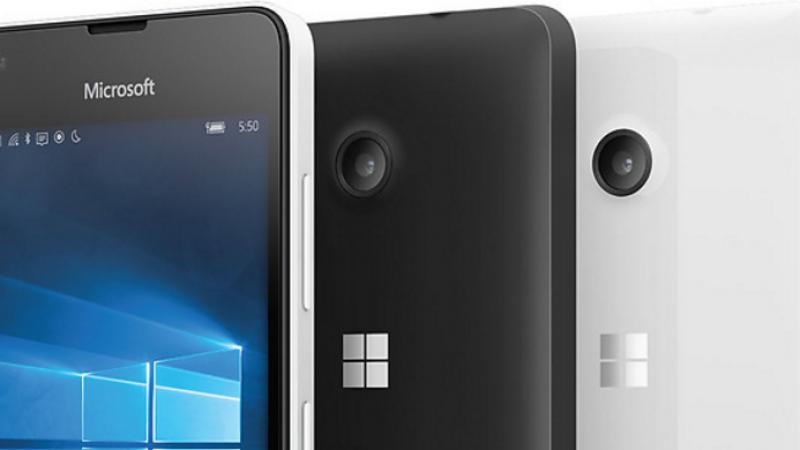 Microsoft déploie un nouveau firmware pour les Lumia 550
