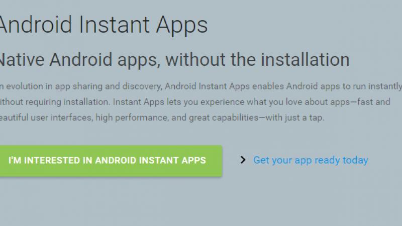"""Google : un système pour profiter d'une """"appli"""" sans l'installer"""