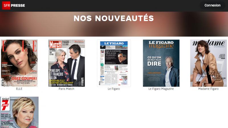 SFR Presse s'enrichit de cinq titres et inspire Bouygues