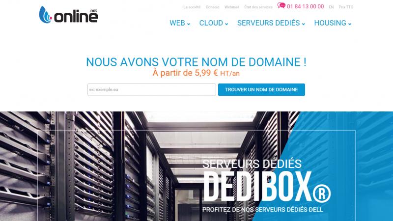 Online s'offre un nouveau site web et de nouvelles offres d'hébergement Cloud