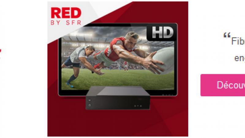 RED by SFR proposera également deux offres « RED Fibre » sur Showroomprivé