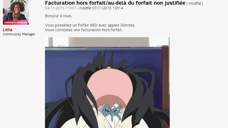 Bug by SFR : des facturations hors forfait non justifiées pour les clients RED