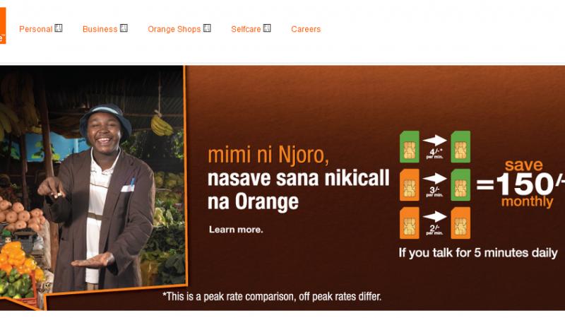 Orange cède ses 70% dans Telkom Kenya