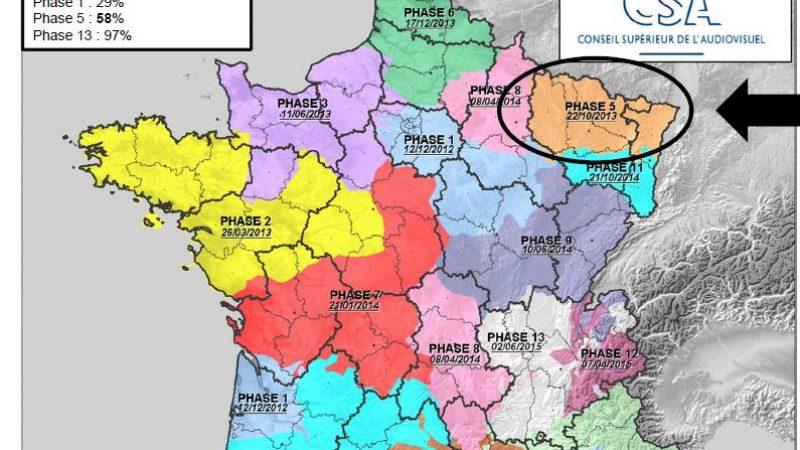 Alsace: Les nouvelles chaînes TNT prévues pour le 22 octobre