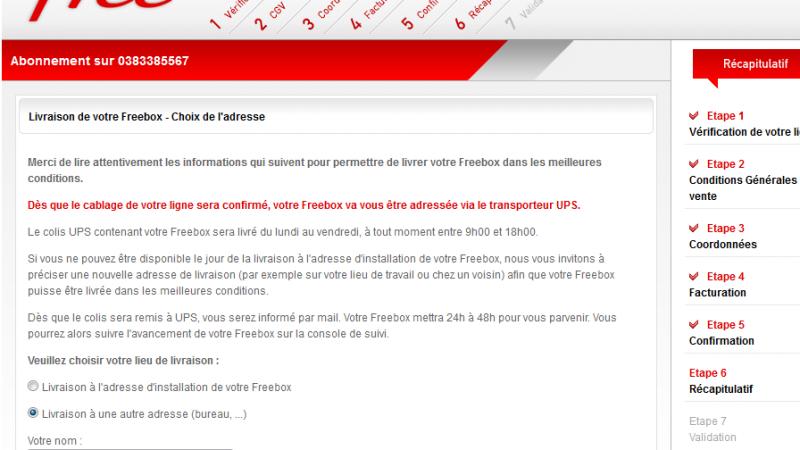 Abonnement Freebox : du changement pour la livraison de votre Box