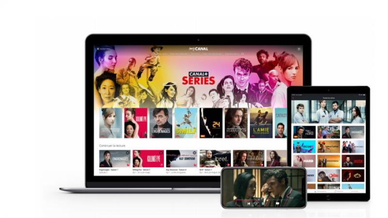 """Le groupe Canal+ lance """"Canal+ Séries"""" son nouveau service SVoD pour contrer Netflix"""