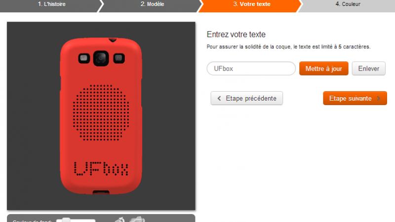 Orange et Sculpteo se lancent dans la coque personnalisable pour Smartphone
