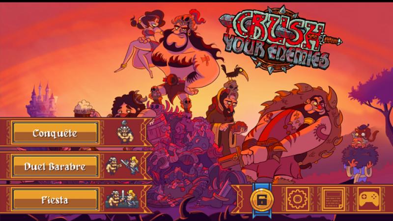 Nouveau jeu gratuit sur Freebox Mini 4K : Jouez les barbares et détruisez tout sur votre passage