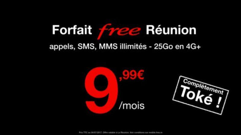 Comme c'est le cas en métropole sous certaines conditions, Free ne facture pas non plus la carte SIM à La Réunion
