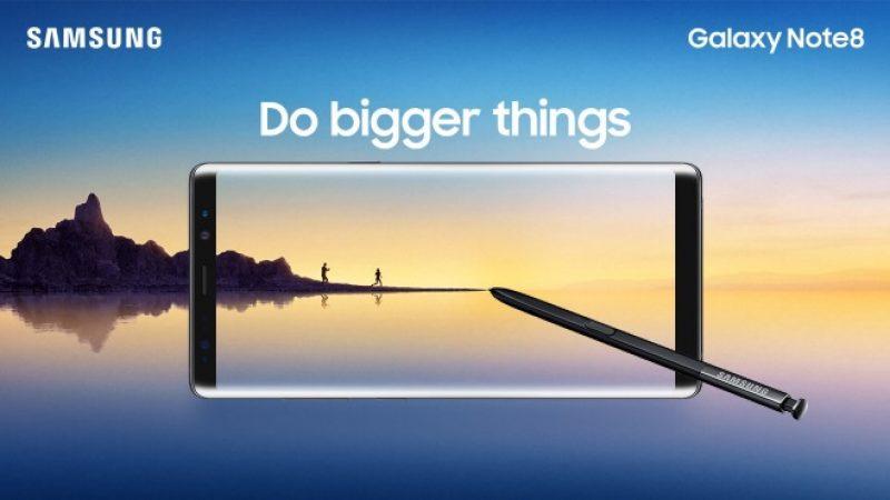 Samsung officialise le Galaxy Note 8, son nouveau vaisseau amiral