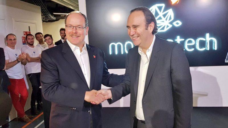 Xavier Niel inaugure l'incubateur Monaco Tech qu'il a cofondé