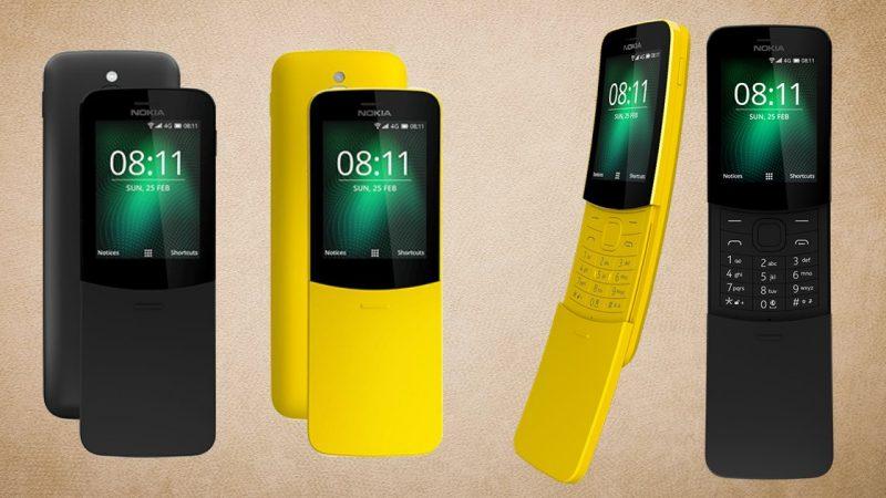 Après le 3310, Nokia réédite le 8110, celui de Neo dans Matrix mais avec de la 4G