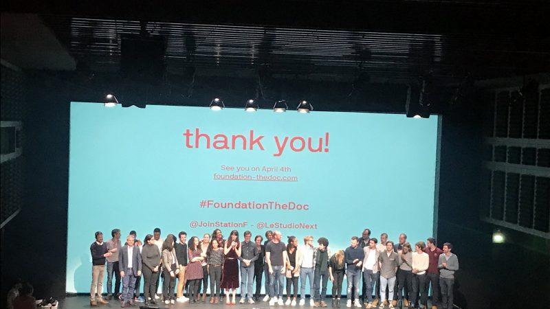 Xavier Niel présente à Station F la première série qui plonge au coeur de la vie de startups