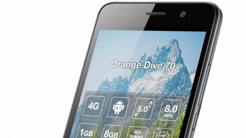 Orange lance une collection de smartphones 4G