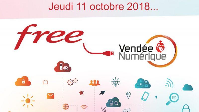 Xavier Niel signera l'arrivée de Free sur le RIP de Vendée Numérique le 11 octobre