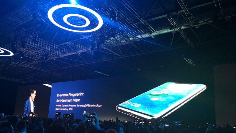 Le Huawei Mate 20 Pro a enfin été révélé aujourd'hui