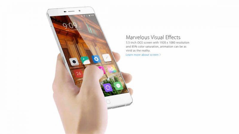 Elephone dévoile le P9000, un nouveau smartphone avec un écran sans bordures