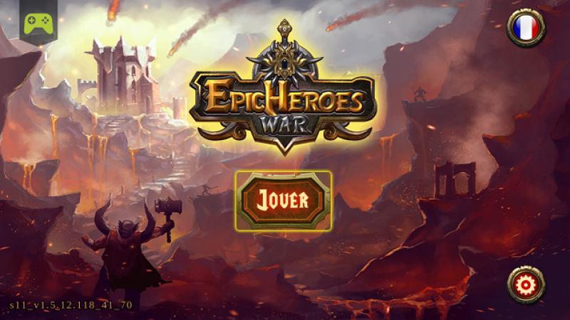Test jeu gratuit sur Freebox Mini 4K : découvrez Epic Heroes War