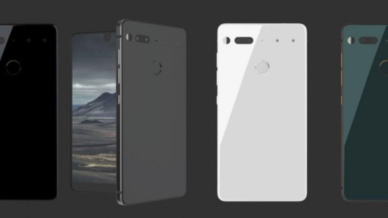 Essential Phone PH-1: Sortie imminente pour le smartphone haut de gamme du cofondateur d'Android