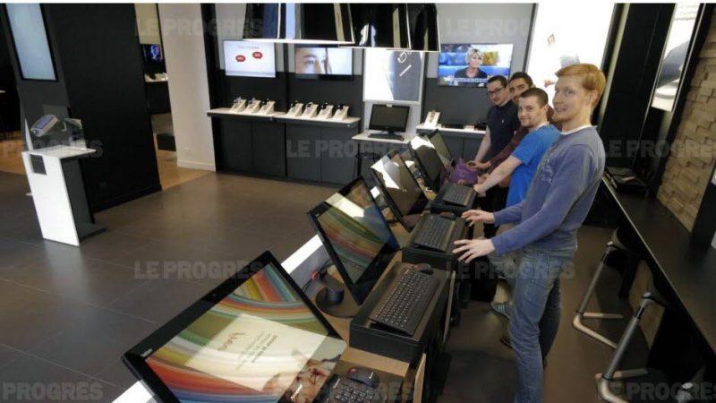 Découvrez les premières photos du grand Free Center de 140 M2 qui ouvre à Lyon