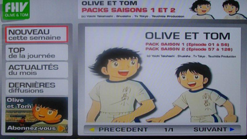 """C'est fini pour """"FHV Dragon Ball Z"""" et """"FHV Olive et Tom"""" sur Free Home vidéo"""
