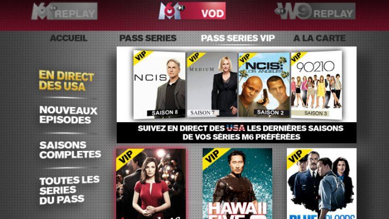 Le pass VIP de M6 VOD est lancé en avant première sur la Freebox