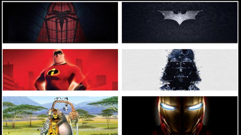 Habillez votre Freebox Révolution avec ce pack spécial « Cartoons & Movies »