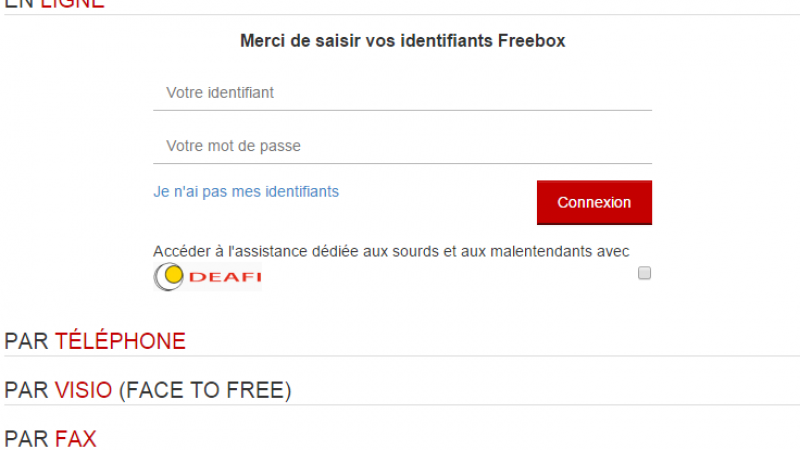 Face To Free : l'assistance par Webcam c'est parti !