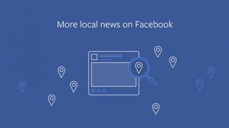 Facebook vous montrera plus d'informations locales