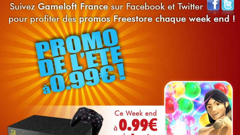 Gameloft : Bubble Bash à moins de 1€ ce week end