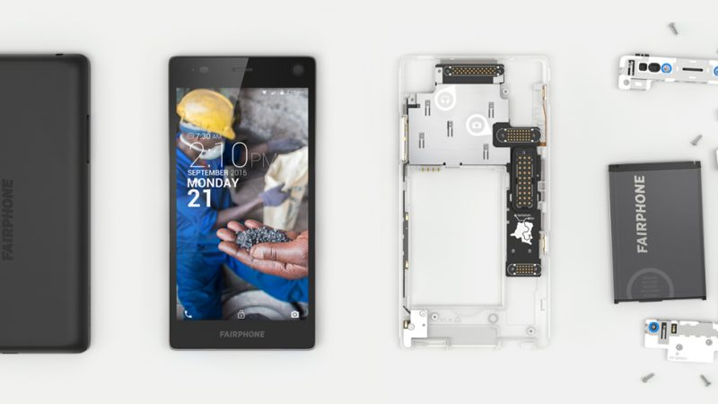Le smartphone modulaire Fairphone 2 arrive en France, mais en exclusivité chez Orange