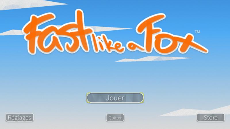 Découvrez Fast like a Fox, un nouveau runner game disponible sur la Freebox Mini 4K