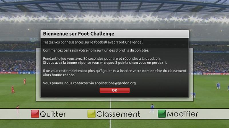 Testez vos connaissances sur le Football avec ce quiz sur Freebox Révolution