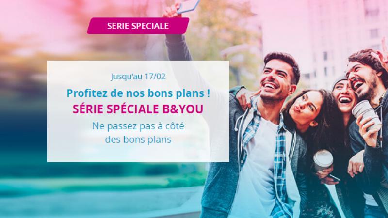 Bouygues Telecom lance une série spéciale 50 Go avec internet illimité le week-end